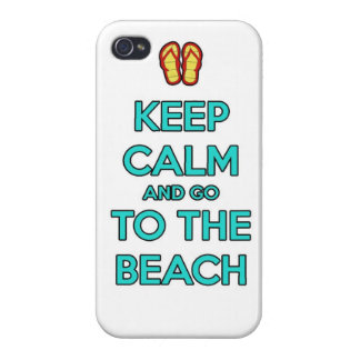keep calm and go to the beach cases for iPhone 4