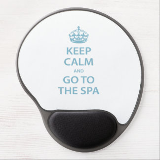 Keep Calm and Go to the Spa Gel Mouse Pad