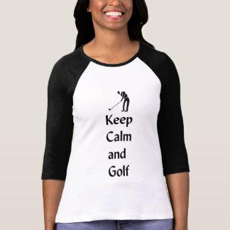 Keep Calm and Golf T-Shirt