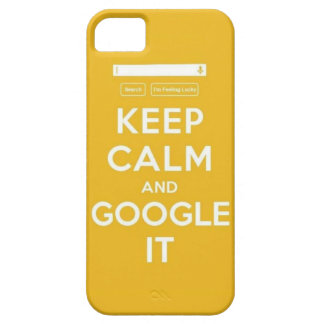 Keep Calm and Google It iPhone SE/5/5s Case