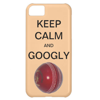 KEEP CALM AND GOOGLY Cricket iPhone 5 Case