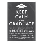 Keep Calm and Graduate Invitation