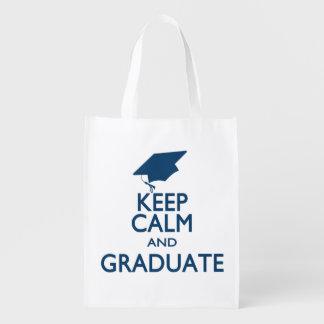 Keep Calm and Graduate Market Totes