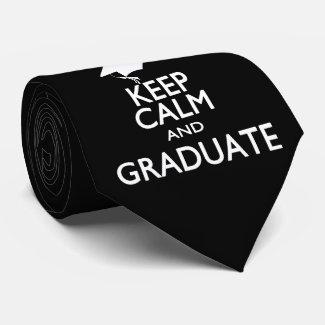 Keep Calm and Graduate Neckwear