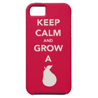 "Keep Calm and Grow a ""Pear"" iPhone SE/5/5s Case"