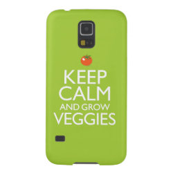 Case-Mate Barely There Samsung Galaxy S5 Case with Keep Calm and Grow Veggies design