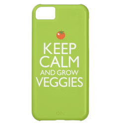 Case-Mate Barely There iPhone 5C Case with Keep Calm and Grow Veggies design