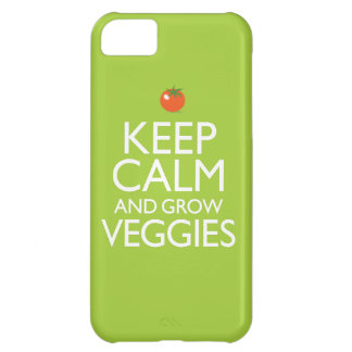 Keep Calm and Grow Veggies Case For iPhone 5C