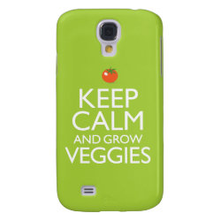 Case-Mate Barely There Samsung Galaxy S4 Case with Keep Calm and Grow Veggies design