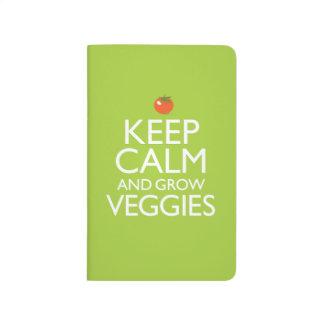 Keep Calm and Grow Veggies Journal