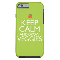 Case-Mate Barely There iPhone 6 Case with Keep Calm and Grow Veggies design