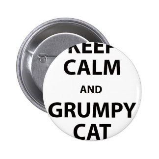 Keep Calm and Grumpy Cat Button