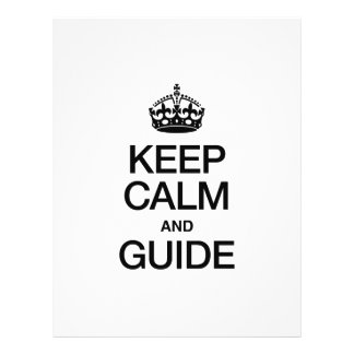 KEEP CALM AND GUIDE FLYER