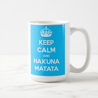 Keep Calm And Hakuna Matata Mug