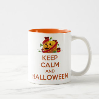 Keep Calm and Halloween Mug