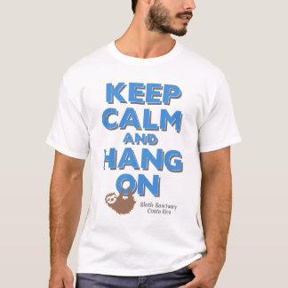 Keep Calm and Hang On Sloth Tee