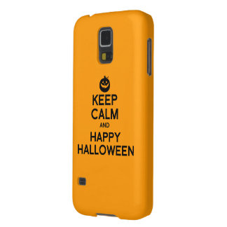 KEEP CALM AND HAPPY HALLOWEEN -.png Galaxy S5 Cover