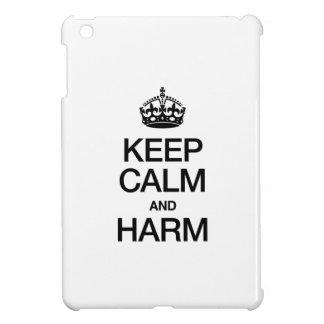 KEEP CALM AND HARM COVER FOR THE iPad MINI