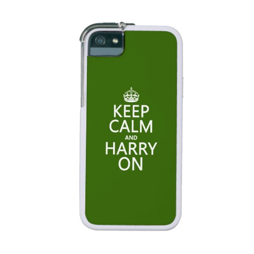 Keep Calm and Harry On (any background color) iPhone 5/5S Cases