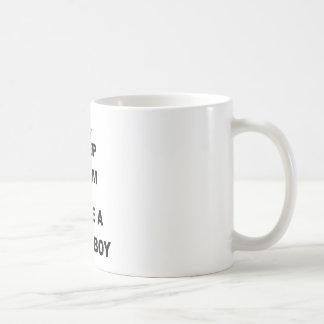 KEEP CALM AND HAVE A BABY BOY CLASSIC WHITE COFFEE MUG