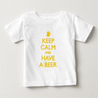 Keep Calm and Have a Beer Baby T-Shirt