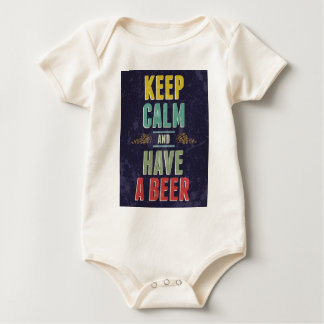 Keep Calm And Have A Beer Bodysuit
