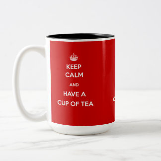 Keep Calm and Have a Cup of Tea Mugs