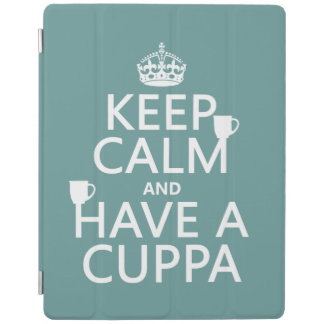 Keep Calm and Have a Cuppa - all colors iPad Smart Cover