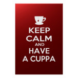 Keep Calm and Have a Cuppa Print