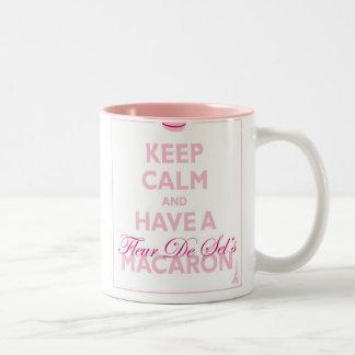 Keep Calm and have a Fleur de Sel's macaron Mug