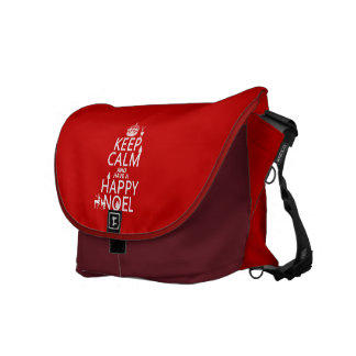 Keep Calm and Have A Happy Noel (christmas) Courier Bag