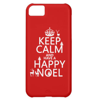 Keep Calm and Have A Happy Noel (christmas) iPhone 5C Case
