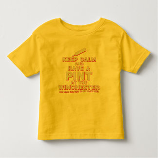 Keep Calm and Have A Pint - Zombies Winchester Toddler T-shirt
