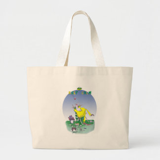 keep calm and have a snooze, tony fernandes large tote bag