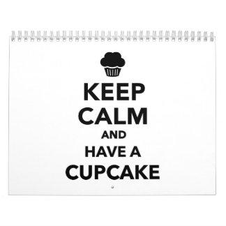 Keep calm and have Cupcake Calendar