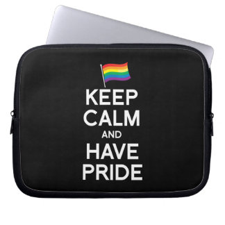 KEEP CALM AND HAVE PRIDE COMPUTER SLEEVE