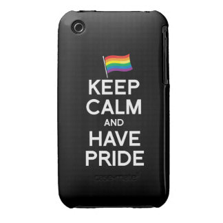 KEEP CALM AND HAVE PRIDE iPhone 3 COVER