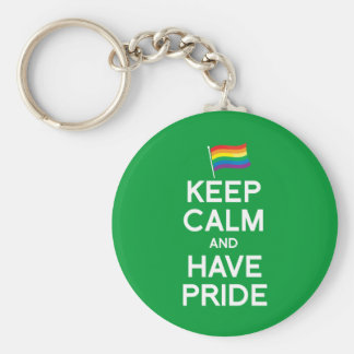 KEEP CALM AND HAVE PRIDE KEYCHAIN