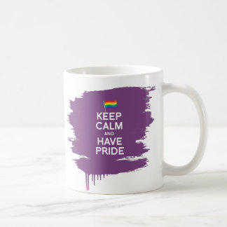 KEEP CALM AND HAVE PRIDE MUG