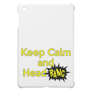 Keep Calm and Head Bang Case For The iPad Mini
