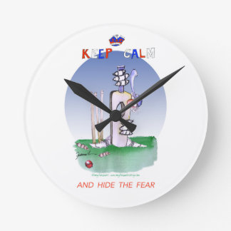keep calm and hide the fear, tony fernandes round clock