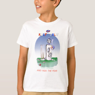 keep calm and hide the fear, tony fernandes T-Shirt