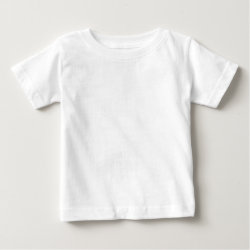 Baby Fine Jersey T-Shirt with Keep Calm and Hike On design