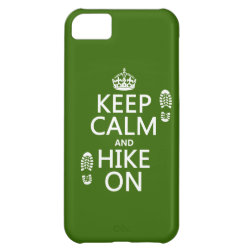 Case-Mate Barely There iPhone 5C Case with Keep Calm and Hike On design
