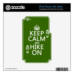 iPod Classic (80/120/160GB) Skin with Keep Calm and Hike On design