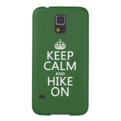 Case-Mate Barely There Samsung Galaxy S5 Case with Keep Calm and Hike On design