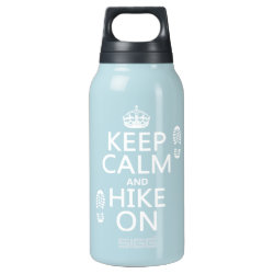 SIGG Thermo Bottle (0.5L) with Keep Calm and Hike On design