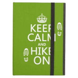 iPad Air Powis Case with Keep Calm and Hike On design