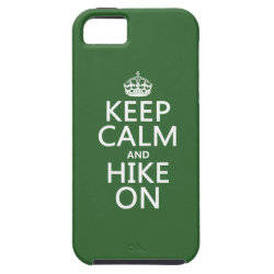Case-Mate Vibe iPhone 5 Case with Keep Calm and Hike On design