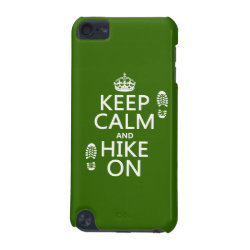 Case-Mate Barely There 5th Generation iPod Touch Case with Keep Calm and Hike On design